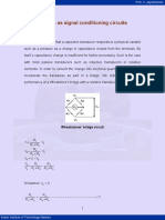 Signal Conditioning Circuits1