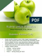 Nutrisi Untuk DM - 2008