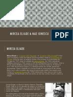 Mircea Eliade & Nae Ionescu