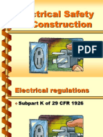Electrical Safety, Construction Revised