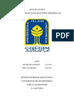 analisa kasus suryadharma ali atas penyelewengan dana haji menggunakan analisa coso