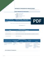Perfil Competencia Operador de Montacarga