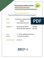 1er informe de Laboratorio de Introducción a la Ingeniería de Alimentos.docx