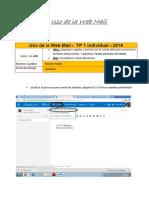 TP 1 Web Mail Borquez