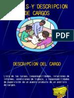 Analisis y Descripcion de Cargos