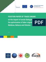 Position Paper Trade Unions - EN
