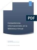 Temario Biblioteca Virtual