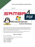 Samba4 - Backup Manual