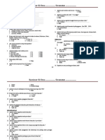 IKM - Antenatal Care (K4) Kuesioner