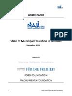 State of Municipal Education in Mumbai.pdf
