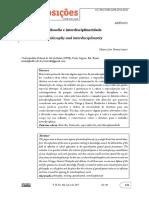 1980 6248 Pp 28-01-00125.Texto Sobre Interdisciplinaridade