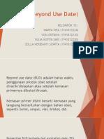 BUD (Beyond Use Date) Klp 10