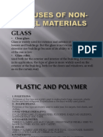 The Uses of Non-steel Materials