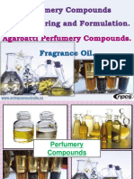 Perfumery Compounds Manufacturing and Formulation. Agarbatti Perfumery Compounds. Fragrance Oil.