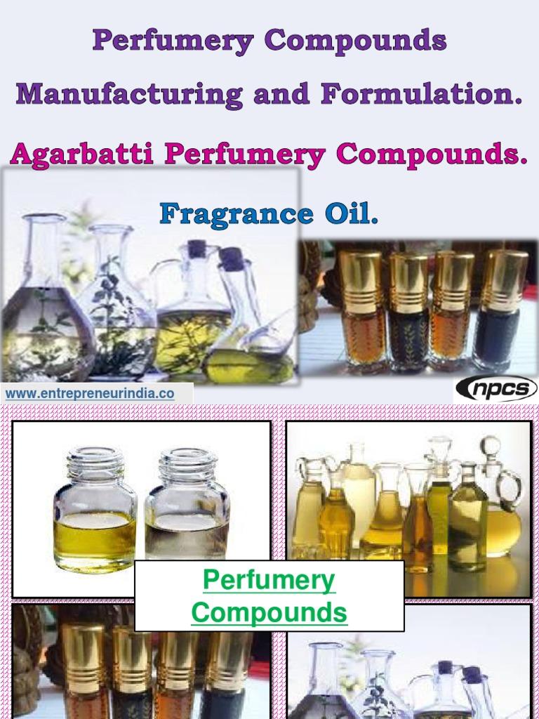 Perfume Formulation Book