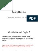 en102 lecture formal english