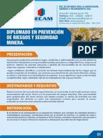 Diplomado Prevencion de Riesgos y Seguridad Minera Programa Final 1