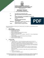 Informes Tecnicos 2016 INFORME SEMESTRAL