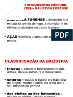 BALÍSTICA FORENSE2010