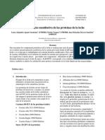 Informe Proteinas Leche