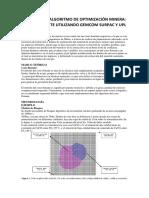 Analisis Del Algoritmo de Optimización Minera