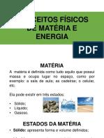 Aula 2 - Conceitos Físicos de Matéria e Energia