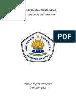 Tugas Peralatan Terapi Dasar Traction Unit