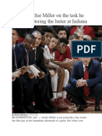 archie miller article