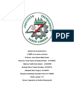 1.7 MRP en El Sector Servicio