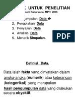 Sa Klasifikasi Data
