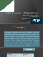 Laporan Kasus Afasia Motorik