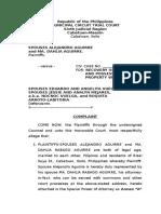 3.Complaint.ejectment