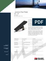 Electronic Floor Pedal WM 526