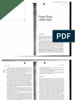 Franz Boas, datos biográficos