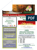 COSTA Newsletter - Dec 2017