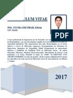 Currículum Vitae 2017 EYE