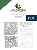 Informe 4 Quimica Ambiental