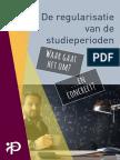 Regularisatie studiejaren Gedetailleerde brochure 2017