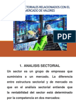 Analisis Sectoriales Mercado de Valores