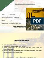 Quicaña Apaza Exposicion Lluvia Acida