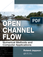 Jeppson, Roland W-Open Channel Flow _ Numerical Methods and Computer Applications-CRC Press (2011)