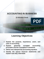 Lect 1 Accounting in Business