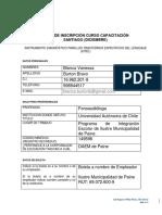 Ficha Inscripción .