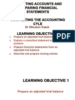 Lect 4 Completing Accounting Cycle