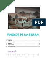 PAISAJE de LA Sierra Ejemplo