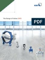The Range of Valves-2013
