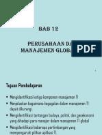 Bab 12 Manajemen Global Ti