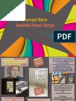 Jendela Panel Surya