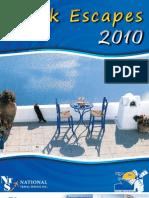 Greek Escapes 2010