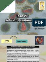 TEMA 20 - Retrovirus, Lentivirus y VIH.pptx